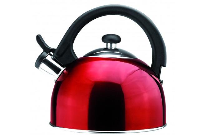 Чайник 2 литра из нержавеющей стали Magefesa Sabal Red