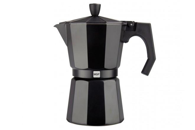 Кофеварка из алюминия 3 чашки Magefesa Kenia Noir