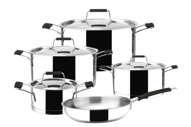 Кухонный набор из нержавеющей стали Magefesa Premier Black